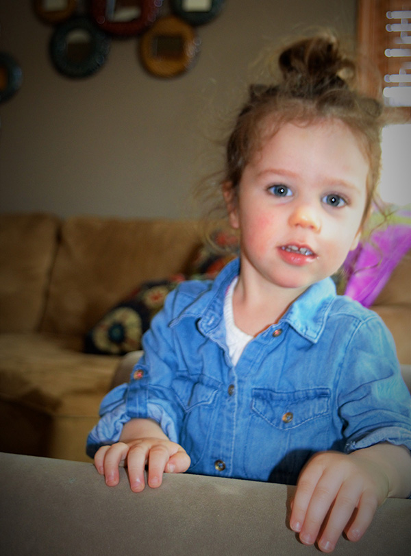 Bridey, age 3, Speech Therapy recipient